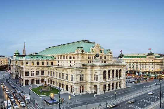 Vienna State Opera at the Ringstrasse