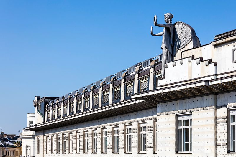 Austrian Post Savings Bank by Otto Wagner