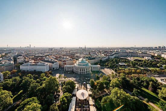 Vienna, view from City Hall