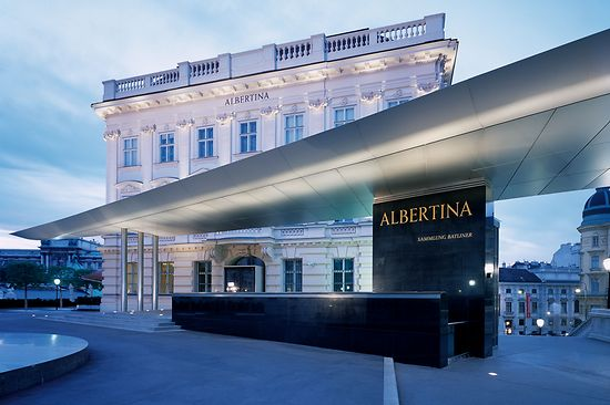 Main entrance to the Albertina