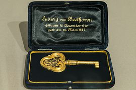Key to the coffin of Ludwig van Beethoven, 1863