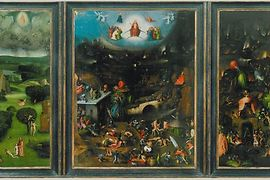 Hieronymus Bosch, The Last Judgment, inner side