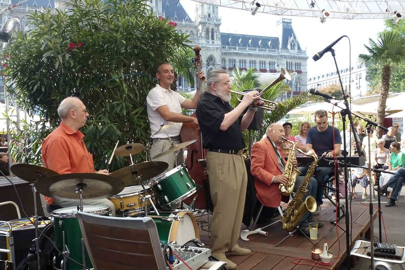 Jazz Ensemble with Hans Salomon, Vienna Music Film Festival at City Square