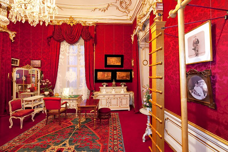 Empress Elisabeth's exercise and private room