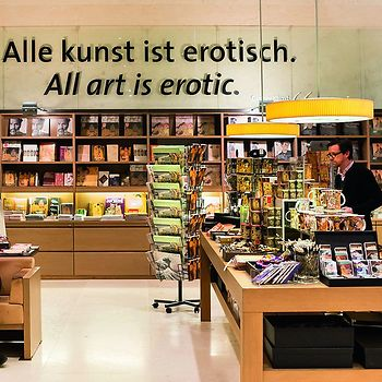 Museumsshop im Leopold Museum