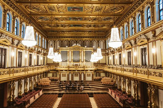 Musikverein Vienna, Great Hall (Golden Hall)