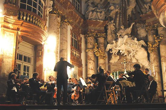 Orchester 1756 gives a concert at St. Charles Church