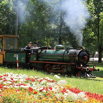Miniature railway in the Prater