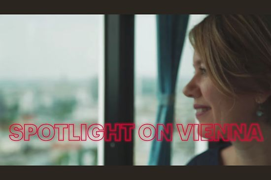 Spotlight on Vienna, Filmstill, Daniela