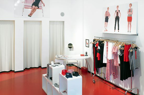 Fashion shop inside