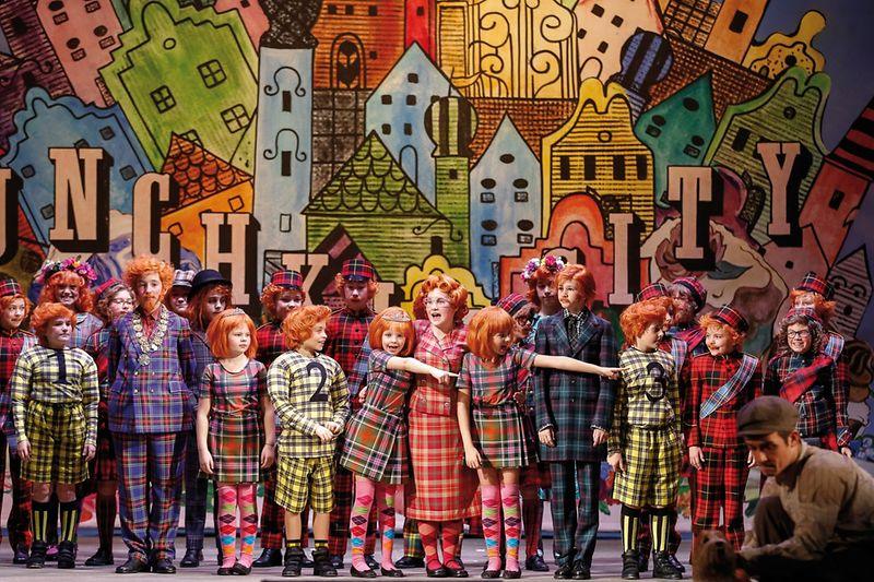 "Musical ""The Wizard of Oz"", Volksoper Wien, 2014"